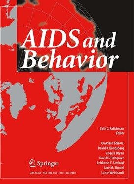 AIDS and Behavior cover