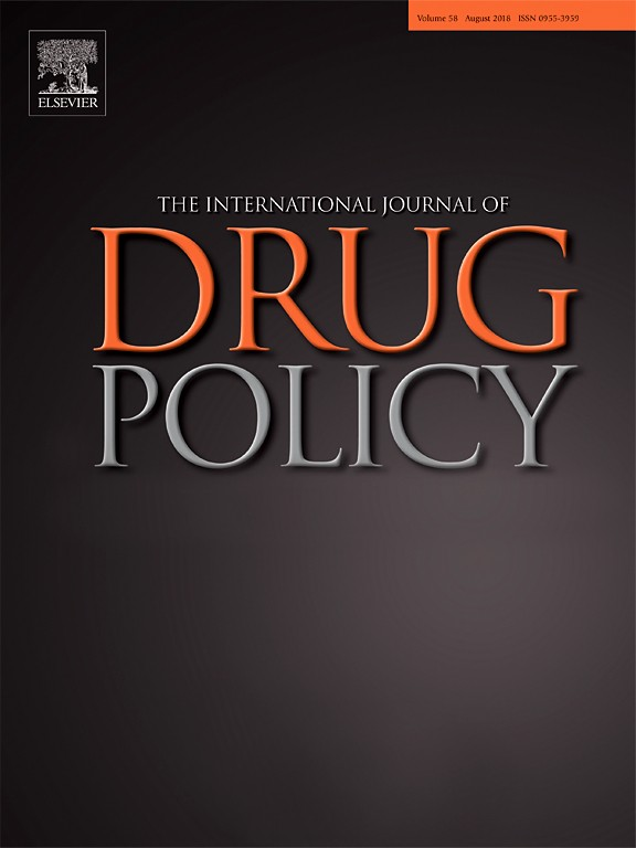 Drug Policy Journal cover