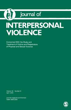 Journal of Interpersonal Violence cover