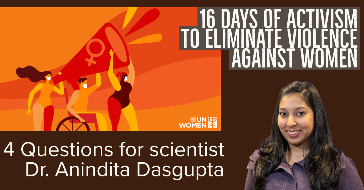 16 days of activism to eliminate violence against women