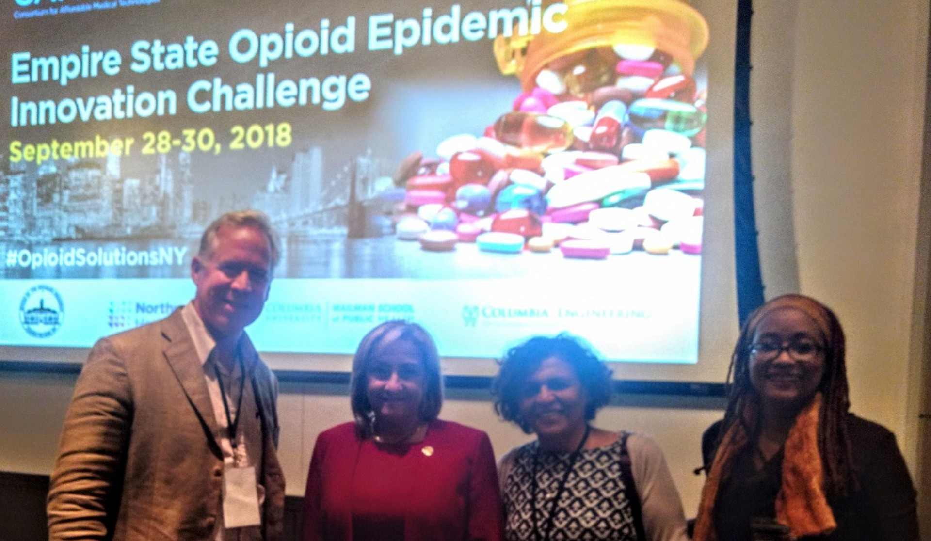 Photo showing Empire State Opioid Epidemic Innvoation Challenge