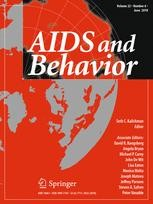 aids and behavior journal cover
